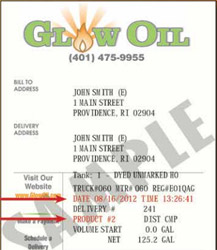 How to Read Your Home Heating Oil Delivery Ticket
